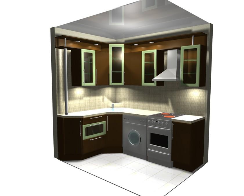 Кухни 504 серия дизайн