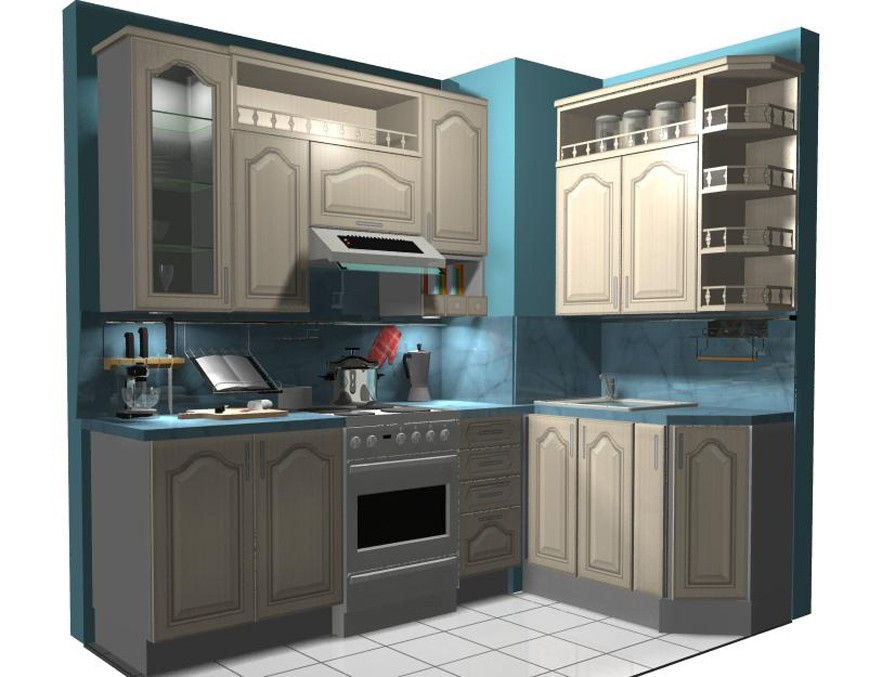 дизайн кухни 606 серии