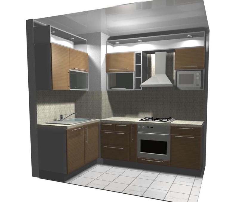Дизайн кухни 464 серии — современный