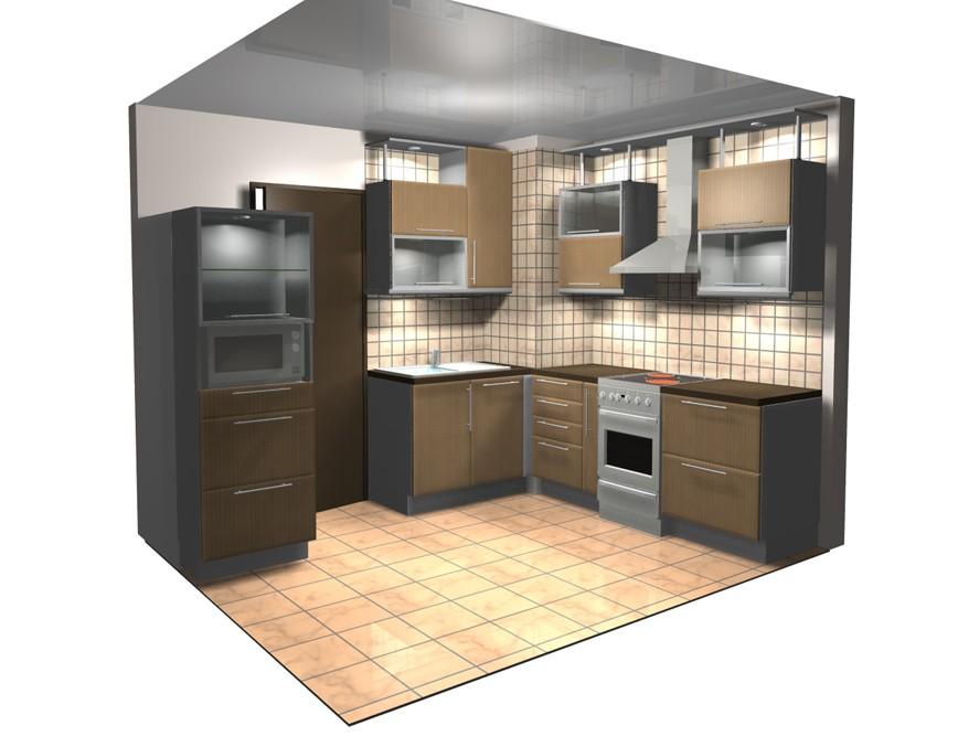 Дизайн кухни 606 серии фото