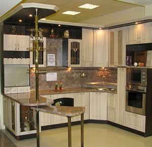 Пример кухни на заказ от производителя